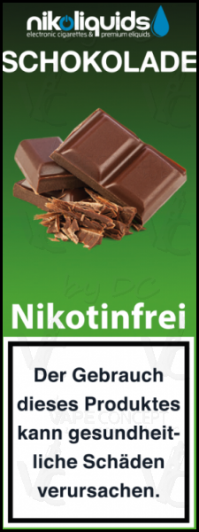 Schokolade by Nikoliquids