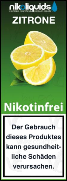 Zitrone by Nikoliquids