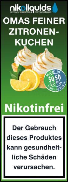 Omas feiner Zitronenkuchen by Nikoliquids